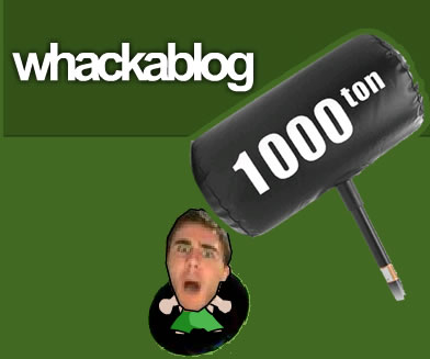 Whackablog