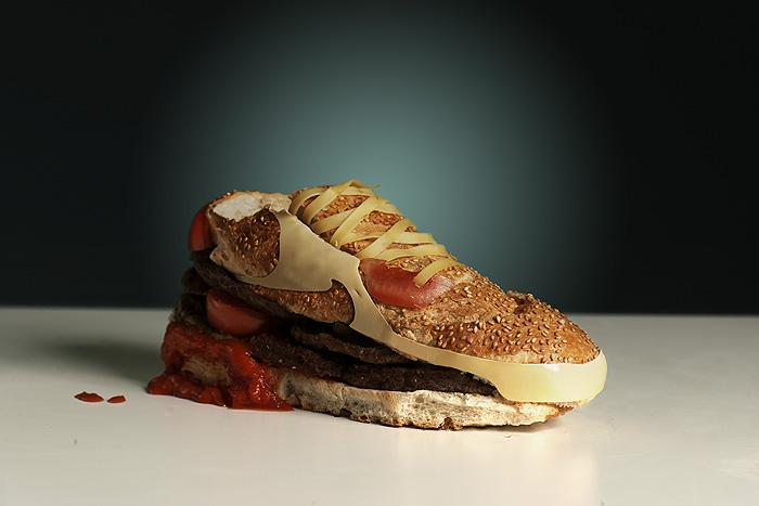 chaussure-hamburger