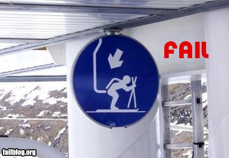fail-owned-skiing-sign-fail