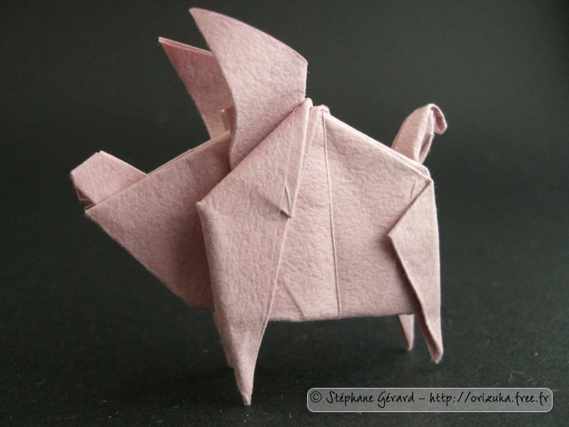 origami-cochon