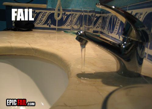 sink-fail