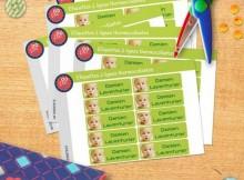 Etiquettes thermocollantes personnalisées