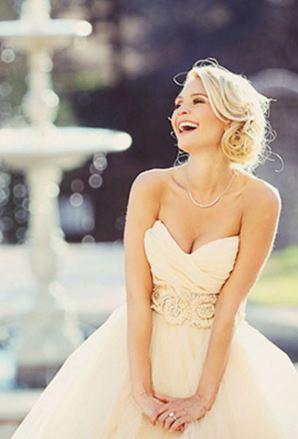 mariee en robe