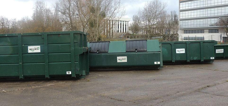 location de benne a déchets et de bennes à gravats