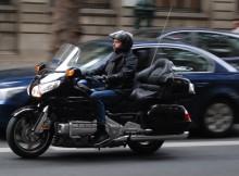 Taxi moto parisien