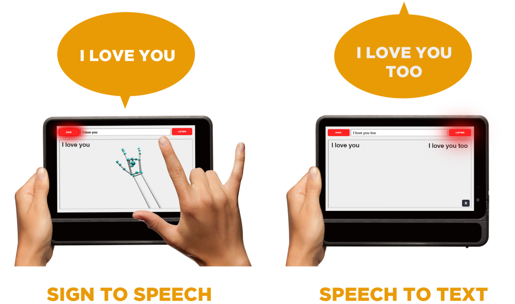 MotionSavvy UNI: 1st sign language to voice system